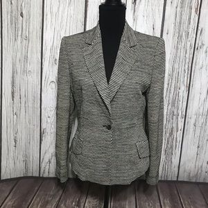 GianFranco Ferre Black & off White Blazer